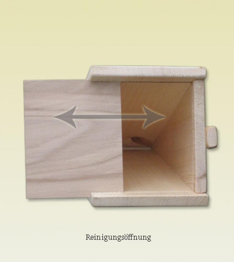 meisenkasten f r blaumeisen holzleiter macherei werner. Black Bedroom Furniture Sets. Home Design Ideas